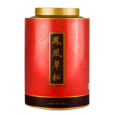【陸宇單叢茶】潮州鳳凰單樅茶清香鴨屎香單叢茶葉禮盒罐裝功夫茶 400g/罐LY005