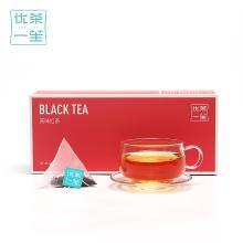 【送精美玻璃杯】优茶一笙 红茶茶包云南滇红古树红茶茶叶袋泡茶红茶包清香型茶