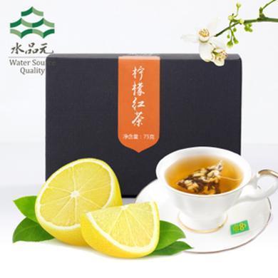 檸檬紅茶茶包花三角袋泡草茶葉水果茶原葉水品元5克*15包*2SPY35