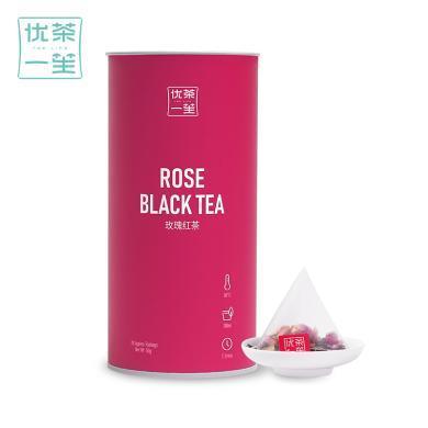優茶一笙 玫瑰花茶組合 花茶花草茶袋泡茶包 玫瑰紅茶冷泡茶20袋