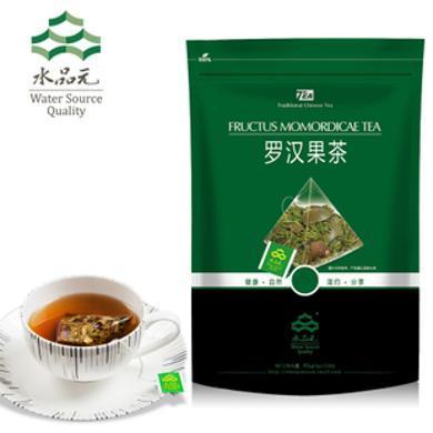 羅漢果茶廣西桂林永福羅漢果花茶胖大海綠茶三角袋泡茶水品元SPY02