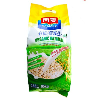 $西麥有機燕麥片(即食)(1050g)