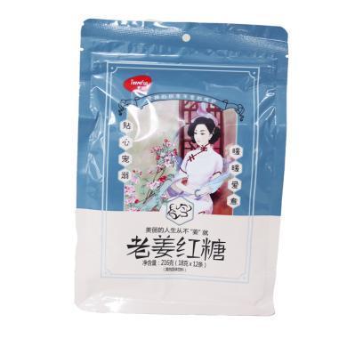 天优老姜红糖(216g)