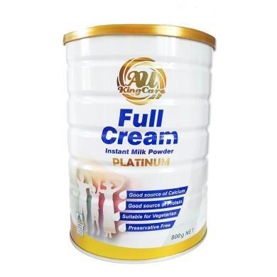 澳洲Au Kingcare珍澳 高鈣全脂速溶奶粉800g 罐裝