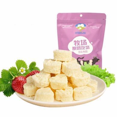 【內蒙古特產】草原奶 牧場原奶疙瘩 158g(原味、酸奶味各1包,共兩包)