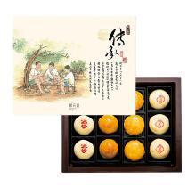 郭元益百年传承台式月饼糕点蛋黄冰沙糕点台湾原装进口特产中秋节送伴手礼盒