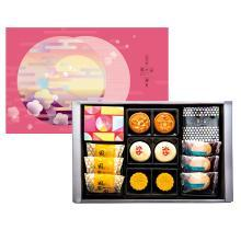 郭元益 漫漫月圆迎月月饼台湾原装进口特产糕点 中秋节送伴手礼盒