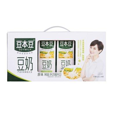 $豆本豆原味豆奶(250ml*12)