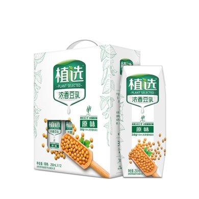 伊利植選濃香豆乳(原味)(250ml*12)