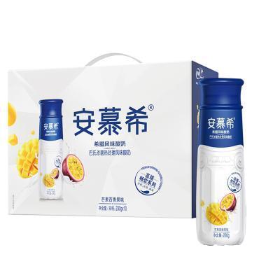 伊利安慕希希臘風味酸奶(芒果百香果)(230g*10)