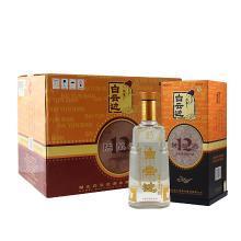 白云邊12年 白酒 十二年陳釀 濃醬兼香型糧食酒 42度 500ml*6瓶 整箱裝(新老包裝隨機發貨)