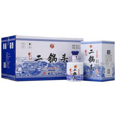 牛欄山 白酒 清香型 珍品二十 二鍋頭 52度 450ml*6瓶 整箱裝(內含三個禮品袋)