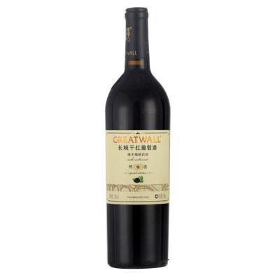 長城(GreatWall)紅酒 特選9年橡木桶解百納干紅葡萄酒 750ml