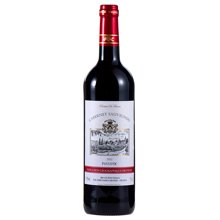 品悦 法国原瓶进口  品乐佳 赤霞珠 红葡萄酒 750ml