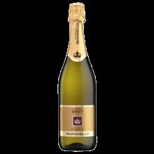 【双支装】品悦 意大利原瓶进口 马拉内罗起泡葡萄酒750mL 送开瓶器 包邮