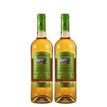 【双支装】品悦 法国原瓶进口 金棕榈 优级格拉芙甜 白葡萄酒 750mL 包邮