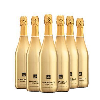 【限时特供 好喝不贵】品悦 意大利原瓶进口 马拉内罗金标起泡酒 750ml