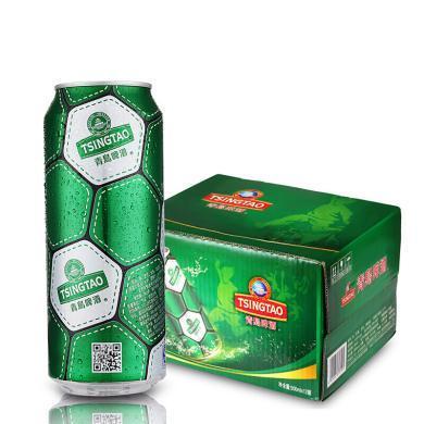 青島啤酒足球罐啤酒10度500ml*12聽 1箱裝