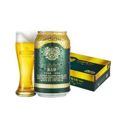 青島啤酒奧古特12度 330ml*24聽