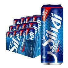 四海全麦冰爽啤酒 8°P 100%选用澳洲进口优质麦芽 500ml*12听整箱装