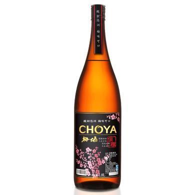 俏雅 (CHOYA)梅酒 (含青梅汁)1.8L