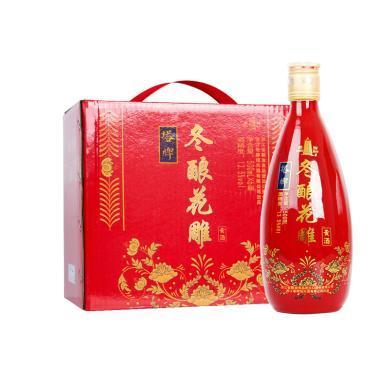 塔牌 紹興黃酒 冬釀花雕 手工黃酒 半干型 13.5度 500ml*6瓶 整箱裝