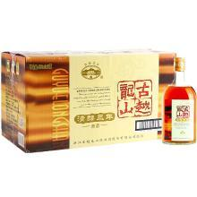 古越龍山 紹興黃酒 糯米酒花雕酒 清醇三年(3年) 10度半甜型 500ml*12瓶 整箱裝