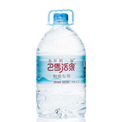 巴馬活泉天然弱堿性礦泉水 礦物質泡茶水 4.7L*4瓶 整箱飲用水