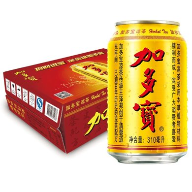 加多寶涼茶(植物飲料)((310ml*24))