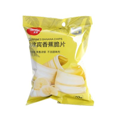 天優菲律賓香蕉片(70g)