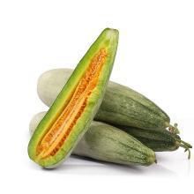 【新品上市】頭茬羊角蜜甜瓜4.5斤裝(約4-7根)綠皮綠肉 脆甜多汁小香瓜 新鮮應季水果
