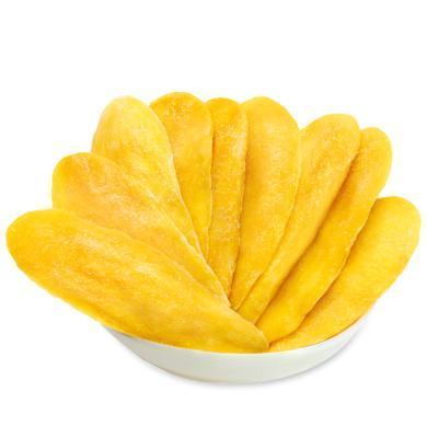 華樸上品 嚴選芒果干大片500gX2包 果干蜜餞水果干 休閑零食小吃