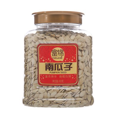 富锦南瓜子(罐装)(450g)