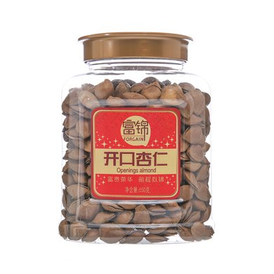 富锦开口杏仁(罐装)(560g)