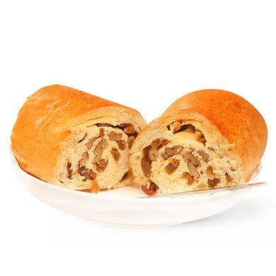 西域美農不含添加劑蓬松劑手撕面包糕點夾心原味 果仁蔓越莓 黑小麥口味新疆大列巴
