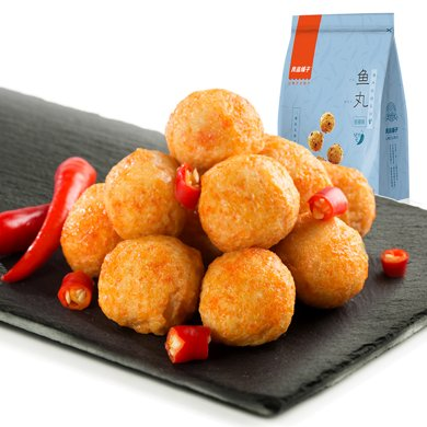 良品铺子 鱼丸(香辣味)100g*1袋