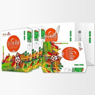 中糧福小滿混合麥果脆禮盒30g*7袋*4盒 休閑娛樂零食 代餐食品 兒童早餐