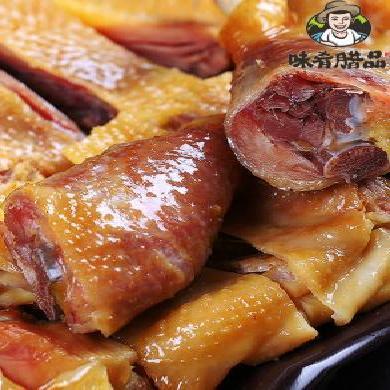 【湖北特產】味肴臘品湖北特產自制風干雞農家臘雞臘鴨臘腸咸雞土雞臘肉500g