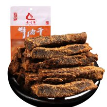老川东 牛肉干(五香)45g*2包 四川特产牛肉丝零食小吃