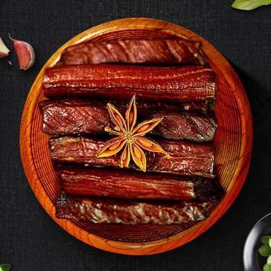 【內蒙古特產】星華源 休閑零食小吃肉干肉脯手撕牛肉干500g 香辣味