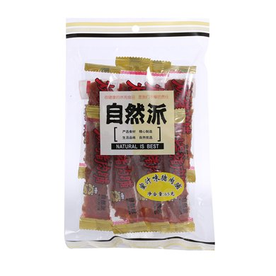 自然派蜜汁味豬肉脯(65g)
