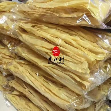 【廣西特產】貝江村 廣西融水特產 傳統純手工 腐竹 泉水純黃豆手工制作 500g/袋