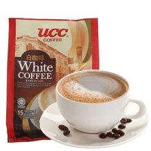 UCC白咖啡速溶3合1马来西亚进口冲调袋装速溶咖啡 525g*1包