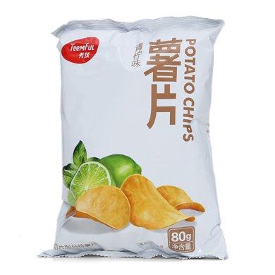 LJ天優薯片青檸味(80g)
