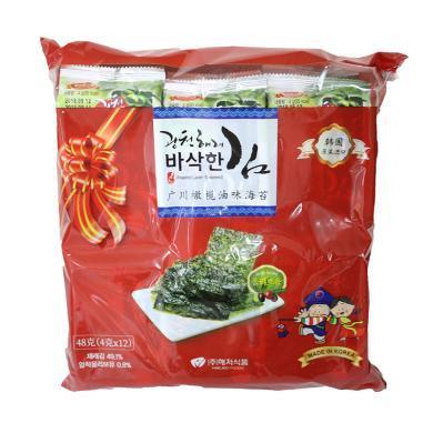 广川橄榄油味海苔(礼袋装)((4g*12))