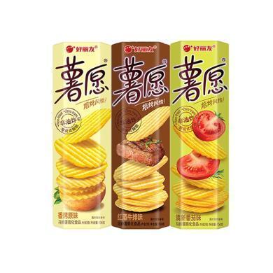 好麗友薯愿馬鈴薯膨化食品三連包(312g)NC1(312g)