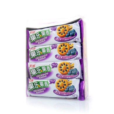 嘉士利果樂果香果醬味夾心餅干(藍莓味)(300克)