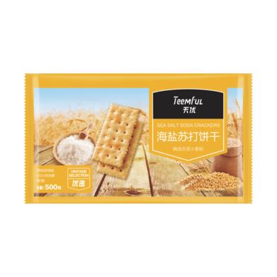 $天优海盐苏打饼(500g)