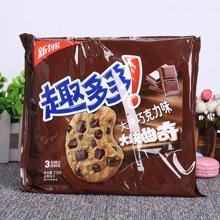 趣多多大块巧克力味系列曲奇饼干经典巧克力味(216g)