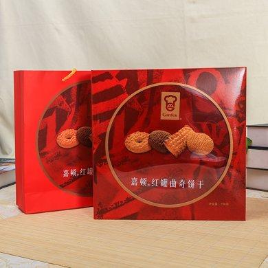 780g嘉頓紅罐曲奇餅干+180g加拿餅干(780g+180g)
